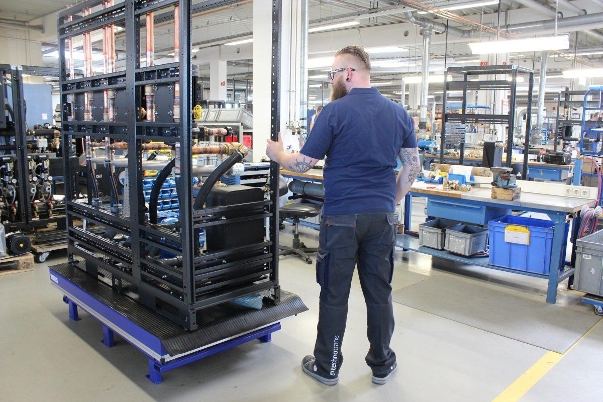 Growing together –  neue Arbeitskleidung im technotrans Konzern