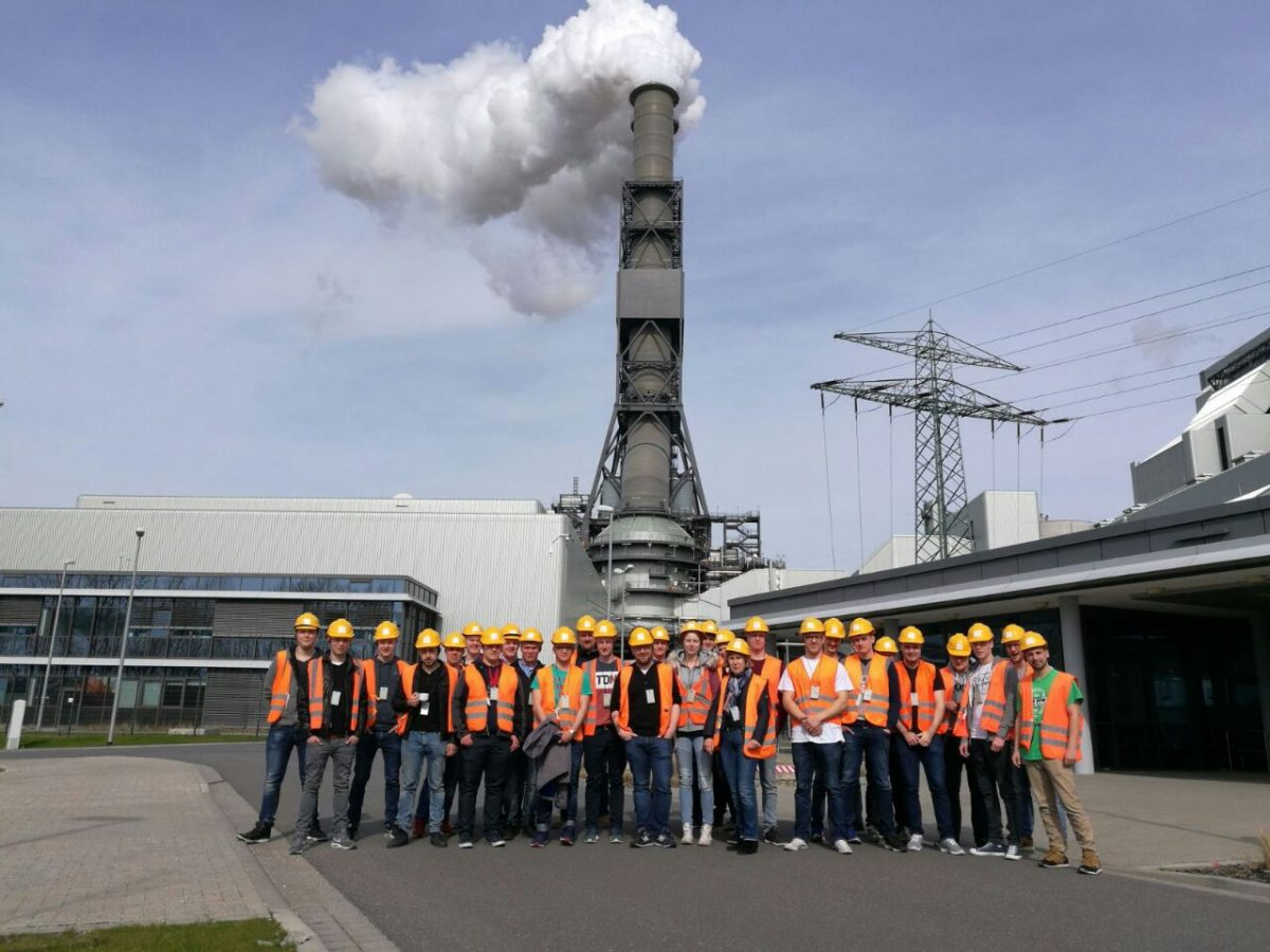 Klassenfahrt der Mechatroniker nach Hamburg